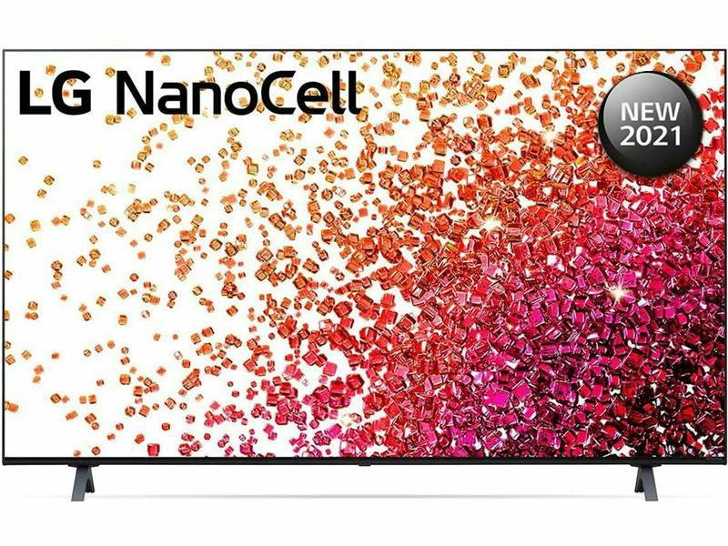 تلفزيون NanoCell من إل جي بدقة 4K حقيقية مقاس 65 بوصة من السلسلة 75، ألوان خلايا النانو،65NANO75VPA