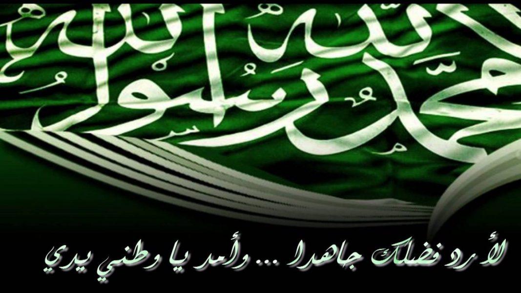 اليوم الوطني السعودي علم السعودية