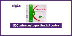 دواعي استعمال حبوب اوماسيلين ٥٠٠